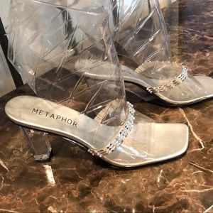 Metaphor Clear Heels